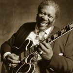 B B King Blues Guitar Man