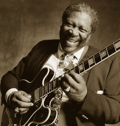 B B King Blues Guitar Man