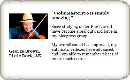 Violin Master Pro Testimonial